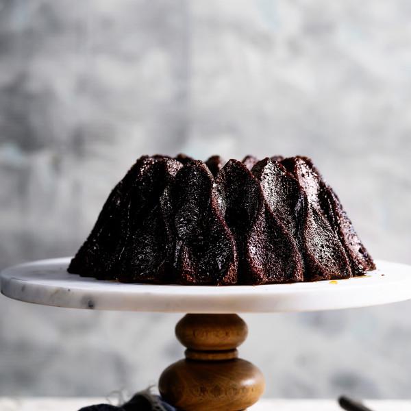 Chocolate Rum Cake Bakers Royale 600x600