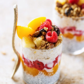 Tropical Breakfast Parfait Breakfast Recipe for those rushed mornings, you can even make this the night before and save yourself even more time.