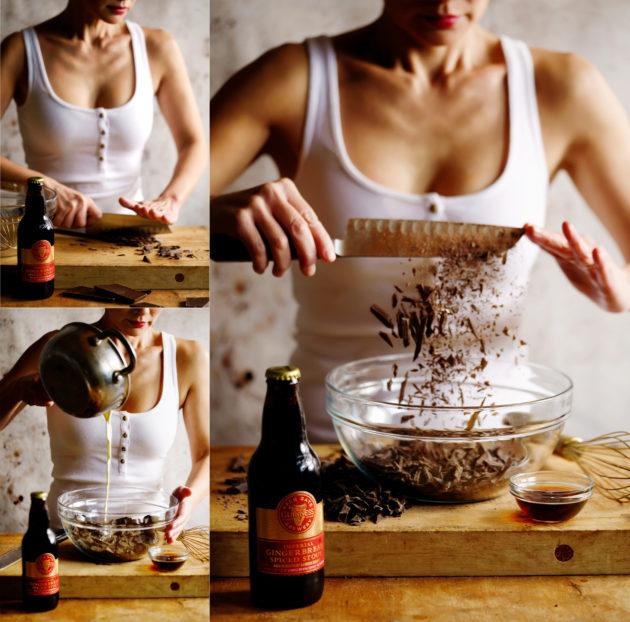 How to make Guinness Chocolate Truffles Step 1-3