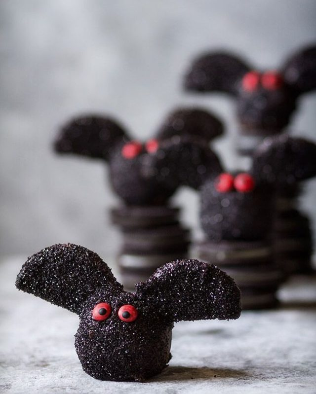 Am I too early? Oreo Truffle Bats still one of my fave creations. It's  kid-friendly in design and an all around crowd pleaser. - #halloweenfood #dessert #sweettreats #halloweentreats #halloween #baking #madefromscratch #bakersofinstagram #bakersgonnabake